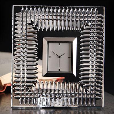 Waterford Lismore Diamond Desk Clock