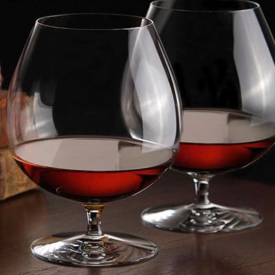 Waterford Elegance Brandy Glass, Pair