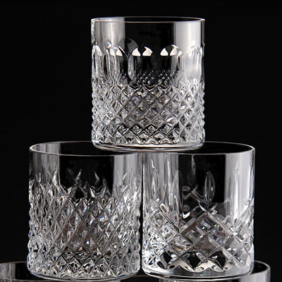 Waterford Heritage Straight Sided Whiskey Tumbler, Set of Six