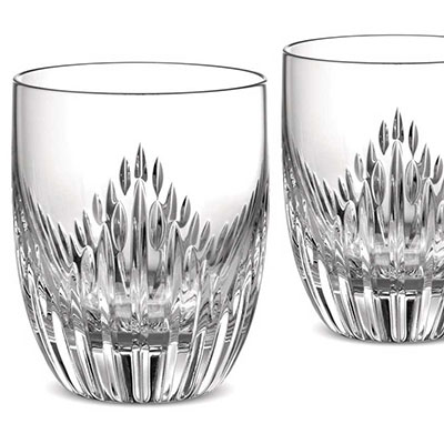 Monique Lhuilier Waterford Stardust Old Fashioned, Pair