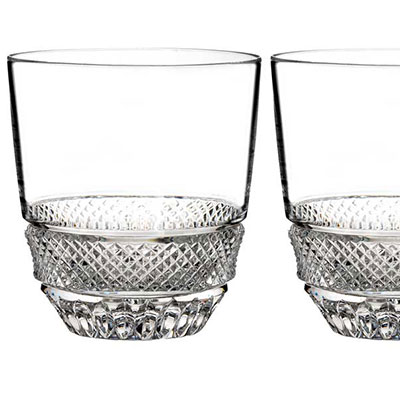 Waterford Town and Country Riverside Drive Tumbler, Pair