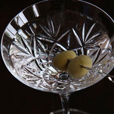 Waterford Huntley Martinis, Pair