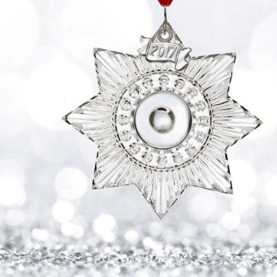 Waterford 2017 Mini Star Ornament