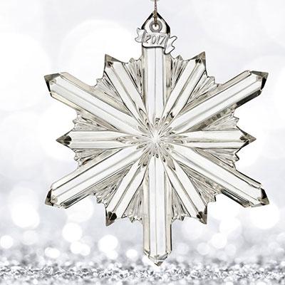Waterford 2017 Annual Snowstar Ornament
