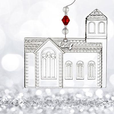 Waterford 2017 Dimensional Church Ornament
