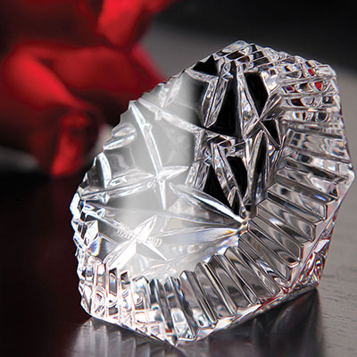 Waterford Heritage Diamond Paperweight