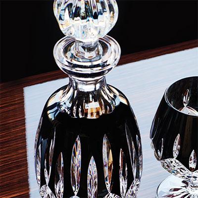 Waterford Lismore Black Spirit Decanter