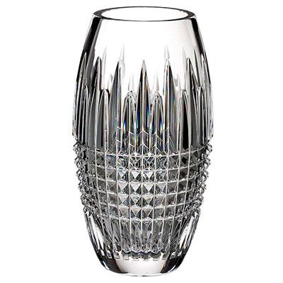 "Waterford Lismore Diamond Encore 8"" Vase"
