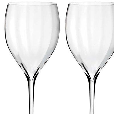 Waterford Elegance Optic Sauvignon Blanc, Pair