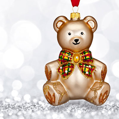 Waterford 2017 Holiday Heirloom Baby's First Teddy Bear Ornament