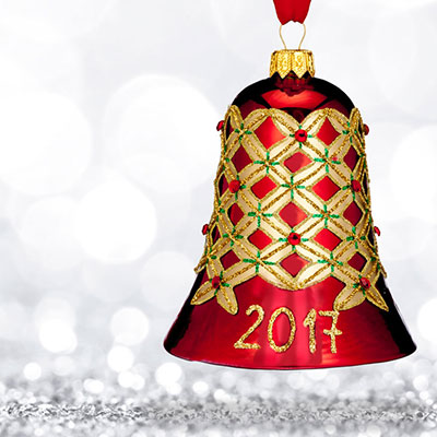 Waterford 2017 Holiday Heirloom Alana Bell Ornament