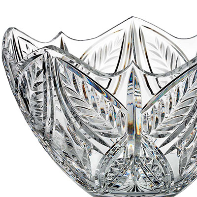 """Waterford House of Waterford Tom Cooke Butterfly 12"""" Bowl, Limited Edition of 400"""