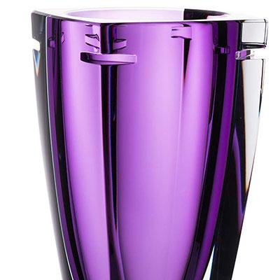 "Waterford W Heather 10"" Vase"