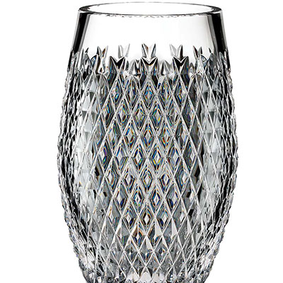 """Waterford House of Waterford Trilogy Alana 12"""" Vase"""