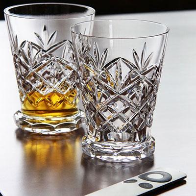 Waterford Huntley Footed Whiskey Tasting Glasses, Pair