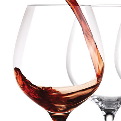 Cashs Crystal Wine Cru Pinot Noir Glasses, Set of 4
