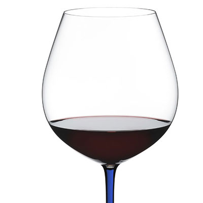 Riedel Fatto A Mano Old World Pinot Noir, Blue