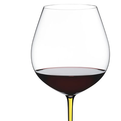 Riedel Fatto A Mano Old World Pinot Noir, Yellow