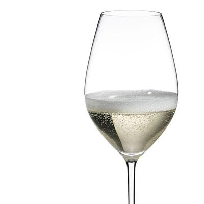 Riedel Fatto A Mano Champagne Wine Glass, White