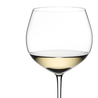 Riedel Fatto A Mano Oaked Chardonnay Glass, White