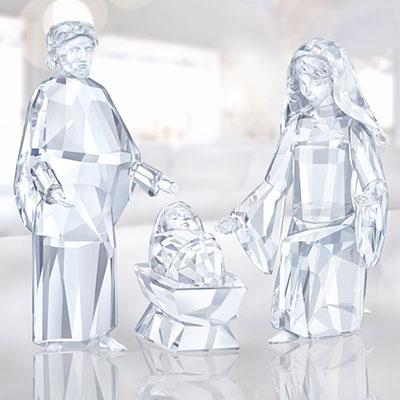 Swarovski Nativity Figure, Baby Jesus
