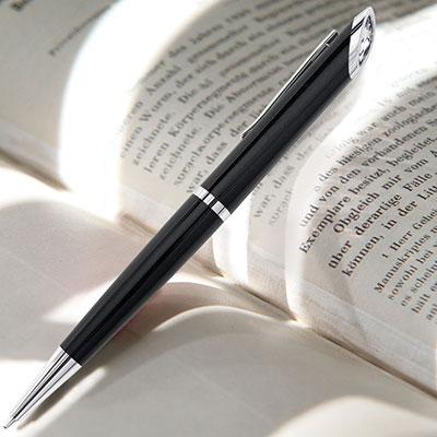 Swarovski Crystal Starlight Ballpoint Pen, Black