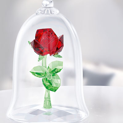 Swarovski Disney Beauty and The Beast, Enchanted Rose