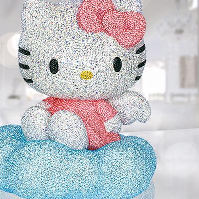Swarovski Myriad Hello Kitty Sculpture, Limited Edition 2017