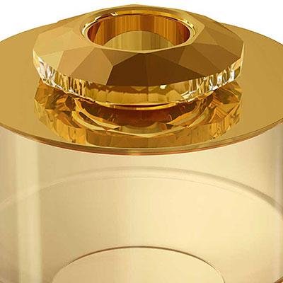 Swarovski Allure Box, Gold Tone