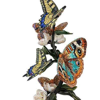 Swarovski Myriad Papili Butterflies Sculpture