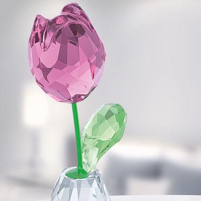 Swarovski Flower Dreams Pink Tulip