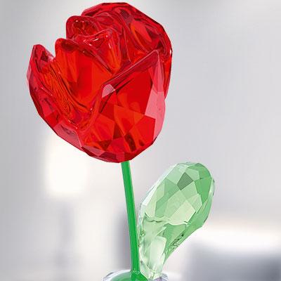 Swarovski Flower Dreams Red Rose