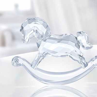 Swarovski Rocking Horse