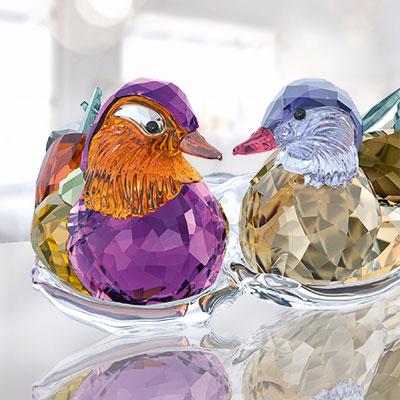 Swarovski Paradise Mandarin Ducks