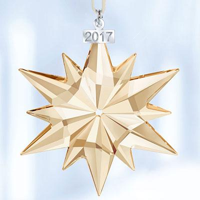 Swarovski SCS 2017 Annual Christmas Star Ornament