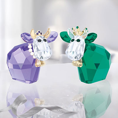 Swarovski King and Queen Mo, Limited Edition 2017