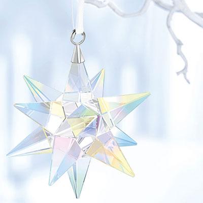 Swarovski 2017 Aurora Borealis Star Ornament