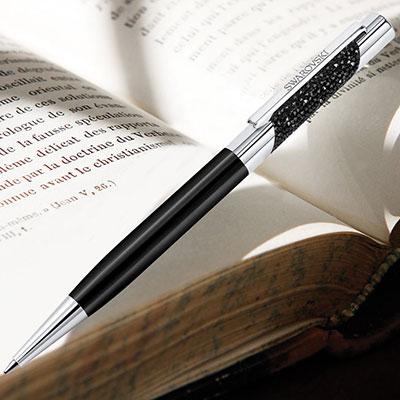 Swarovski Eclipse Ballpoint Pen, Black