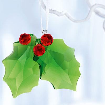 Swarovski Holly 2017 Ornament