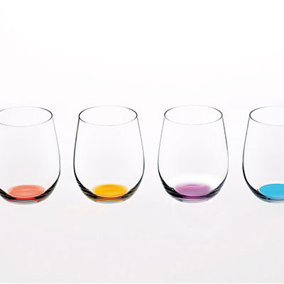 Riedel Happy O Wine Tumbler Glasses, Set of Four Second Edition