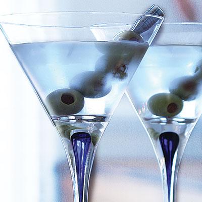 Orrefors Intermezzo Blue Martini, Single