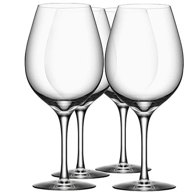 Orrefors More Wine XL Glasses, Set of Four