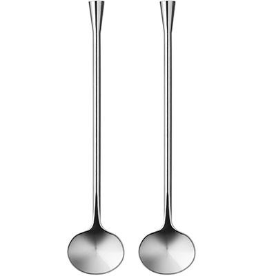 Orrefors City Spoon, Pair
