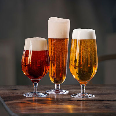 Orrefors Beer Collection 3 Piece Set