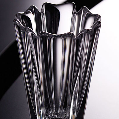 "Orrefors Corona 5 1/2"" Vase"