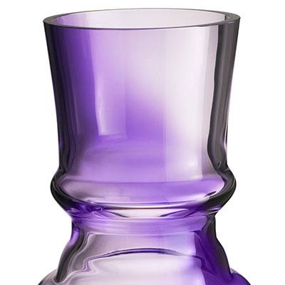 Orrefors Art Piece Martti Rytkonen Afrodite Vase Lilac Ltd 100