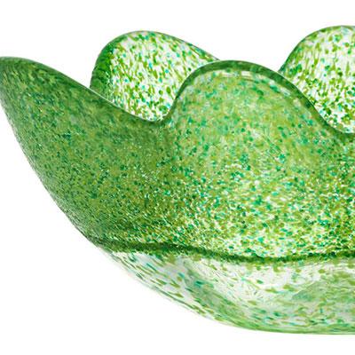 Kosta Boda Organix Medium Bowl, Spring Green