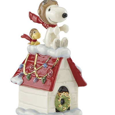 Lenox Snoopy The Flying Ace 2017 Ornament