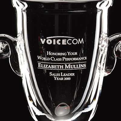 "Crystal Blanc, Personalize! 11"" World Class Cup"