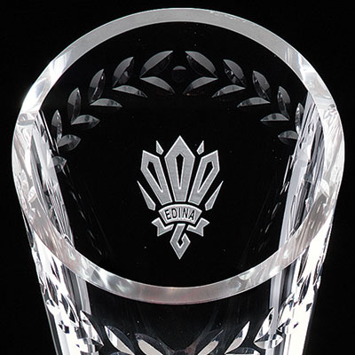 "Crystal Blanc, Personalize! 11"" Laurel Cup"